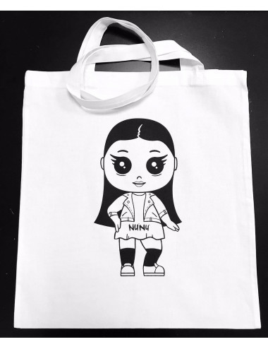 White Nunu fabric bag
