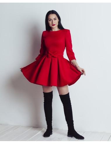 Suknelė su dirželiu