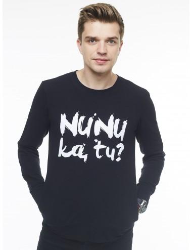 Vyriškas laisvalaikio džemperis ,,Nu nu ką tu?''