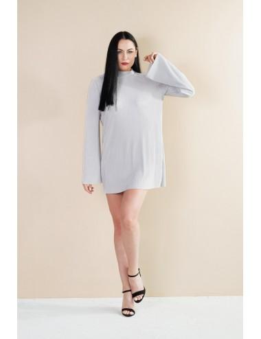 Nunu sidabrinė suknelė