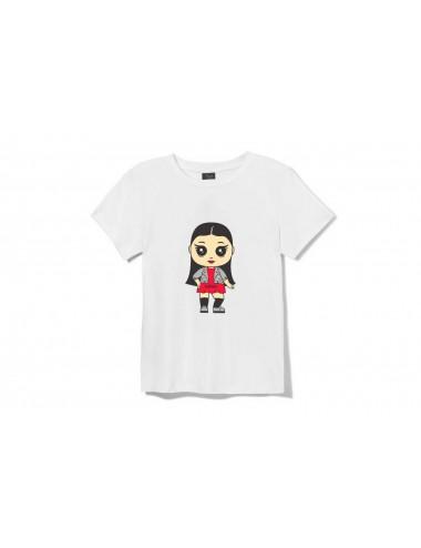 Marškinėliai su lėlyte