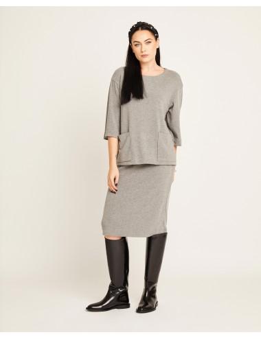 Sijonas ir megztinis...