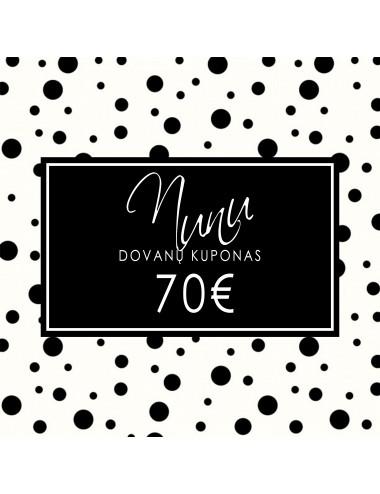 Gift voucher 70 Eur