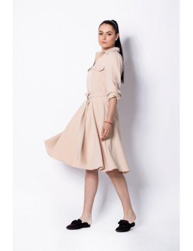 Nunu Nude suknelė su dirželiu
