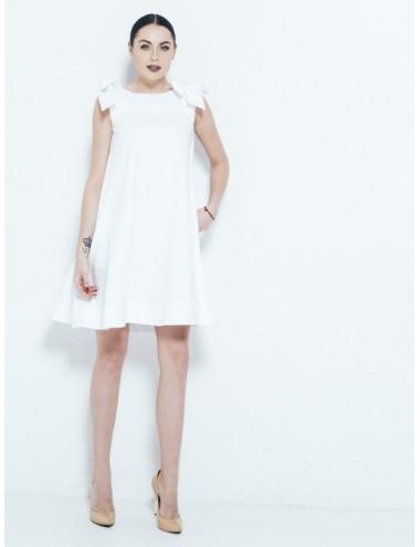 Suknelė su užrišamais kaspinais