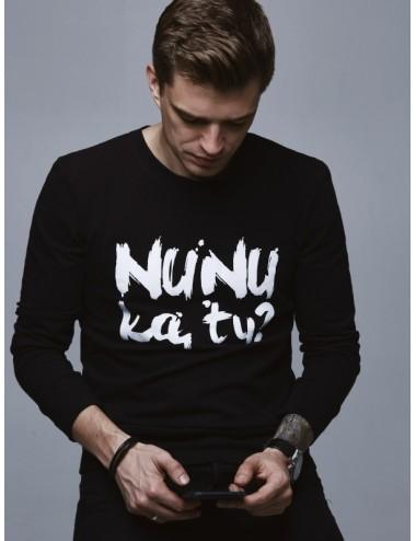 "Men's sweater ""Nunu ka tu?"""