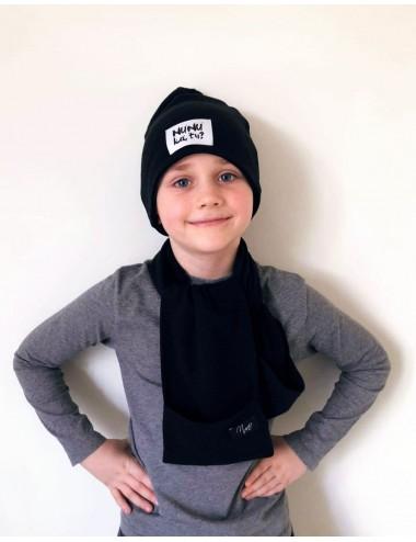 Vaikiškas NUNU kepurės ir šaliko komplektas