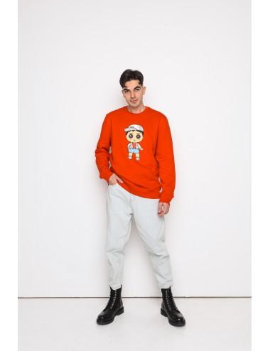 Sweater with NUNU boy